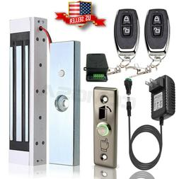 Door Access Control System, Electric Magnetic Lock, 2 Wirele