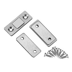 2Pcs Door Catch Latch Ultra Thin Strong Magnetic Catch with