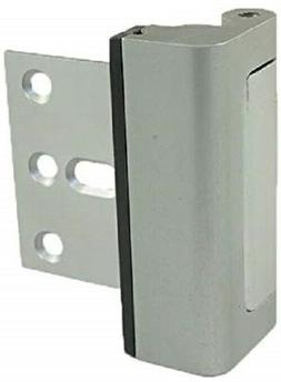 Door Guardian Security Lock, Satin Nickel, NEW