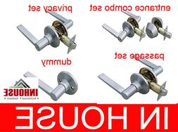 Door Handles locks Passage Privacy Entrance with Deadbolt Du