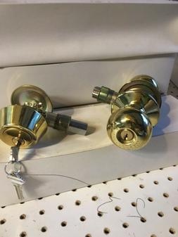 Door Knob Entry Lock, and Combination Dead Bolt Combo Sets