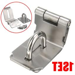 Durable Stainless Steel Hasp Latch And Staple Gate Anti-thef