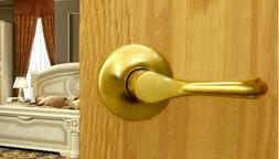 Eiffel Passage Lever Set by FPL Door Locks for Hallway and C