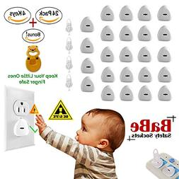 BaBeSafetySockets Electric Outlet Covers - Baby Proofing Chi