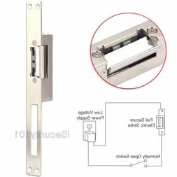 Electric Strike Lock, ZOTER Long Type Electric Door Lock for