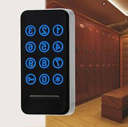 Electronic Cabinet Lock Kit Set, Digital Touch Keypad Lock,