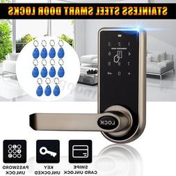 Electronic Code Keyless Keypad Security Entry Smart Door Loc