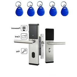 Electronic Digital Smart Password Door Lock Keypad Touch Scr