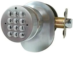 SoHoMiLL Electronic Door Knob with Backup Mechanical Key , s