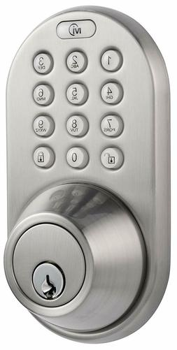 Electronic Door Lock Keyless Entry Touchpad Deadbolt Passcod