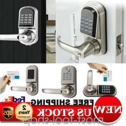Electronic Door Lock Password+ MF Card + 2 keys Digital Keyl