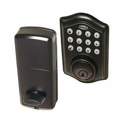 Electronic Door Lock Single Cylinder Deadbolt 1Touch Locking