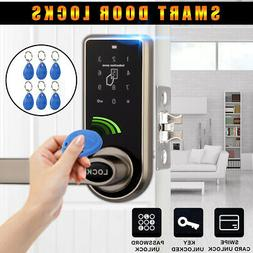 Electronic Keyless Door Lock Home Entry Code Keypad Password