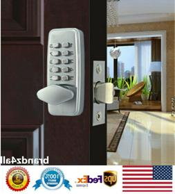 Mechanical Door Lock Keyless Entry Exterior Combination Digi