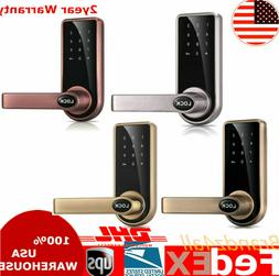 Electronic Smart Keyless Door Lock Code Keypad Security Entr