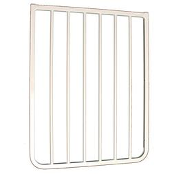 "21.75"" Gate Extension Finish: White"
