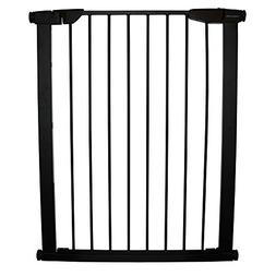 Cardinal Gates Extra Tall Auto-Lock Gate, Black