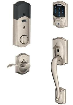 Schlage FE469NX ACC 619 CAM LH Touchscreen Deadbolt with Ala