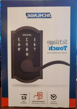 Schlage FE695CAM716ACC Electronic Leverset From the Touch Se
