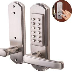 Full Size Combination Mechanical Keyless Door Lock Code Keyp