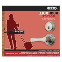 BRINKS HOME SECURITY 23091-119 Harper,Combo Pack Satin Nicke