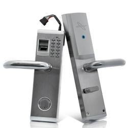 Heavy Duty Biometric Fingerprint Door Lock with Deadbolt Fea