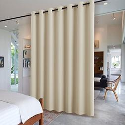 RYB HOME Wall Divider Curtain for Living Room, Noise Reducti