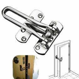 Home Hotel Door Stainless Steel Lock Security Guard Buckle C