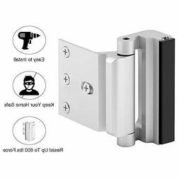 Home Security Door Lock with 8 Screws, Childproof Door Reinf