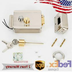 Home Stainless Steel Electronic Door Lock For Wired Video Do