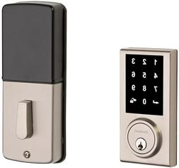 Keyless Dead Bolt Door Lock Satin Nickel Deadbolt Electronic