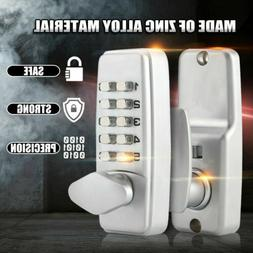 Keyless deadbolt digital electronic door lock keypad mechani