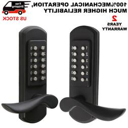 Keyless Door Lock Keypad Machinery Digital Code Entry Door H