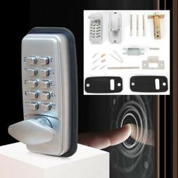 Mechanical Smart Door Lock Keyless Digital Security Code Pas