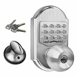 Keyless Mechanical Higher Security Deadbolt Door Lock 2 Keys