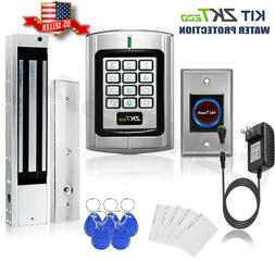 KiT Door Access Control System Zkteco Magnetic Lock, Access