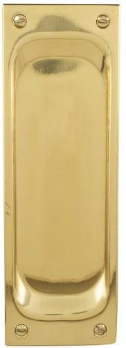 "Emtek 2104 7-1/2"" Height Solid Brass Passage Pocket Door Mor"