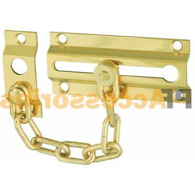 "4.5"" inch Door Bolt Chain Guard Door Lock Home Safety Securi"