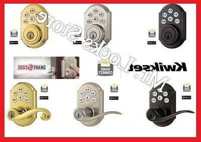 Kwikset 910 & 912 Smart Home Deadbolts & Door Locks with Wir