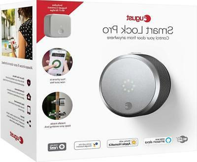 August - Smart Lock Pro Connect Silver