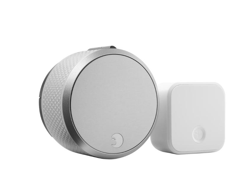 August - Smart Lock Pro + Connect - Silver