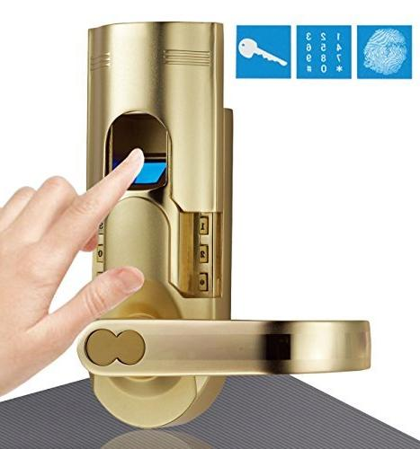 Digi Electronic Biometric Fingerprint Door Lock + Keypad