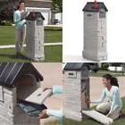 Heavy Duty Giant Outdoor Mailbox Mail Master with Hidden Doo