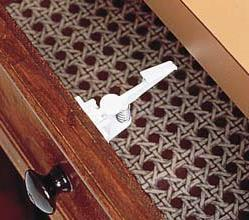Spring Loaded Cabinet and Drawer Latch  pack of 4