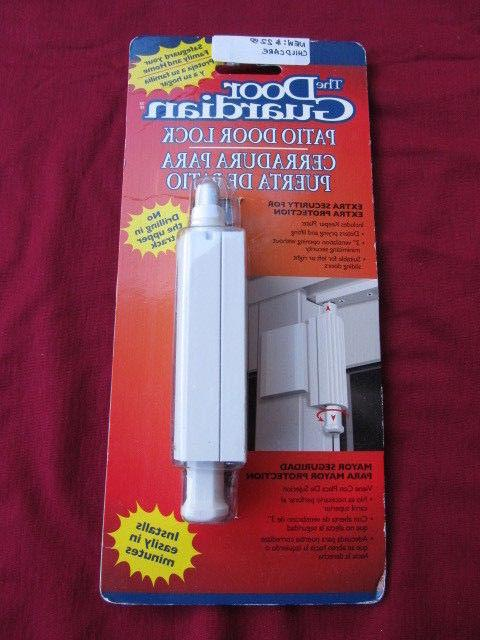 The Door Guardian Patio Lock Safety Meranto Technology Cardi