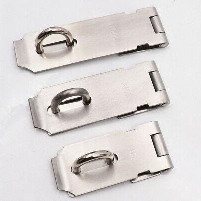 """2pcs  5.5/"""" x 1.5 INCH HEAVY DUTY HASP AND STAPLE FOR DOOR AND SECURITY LOCKS"""