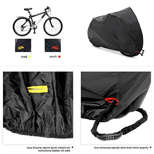 Ohuhu Waterproof Outdoor All Resistance, Oxford Fabric and Bikes