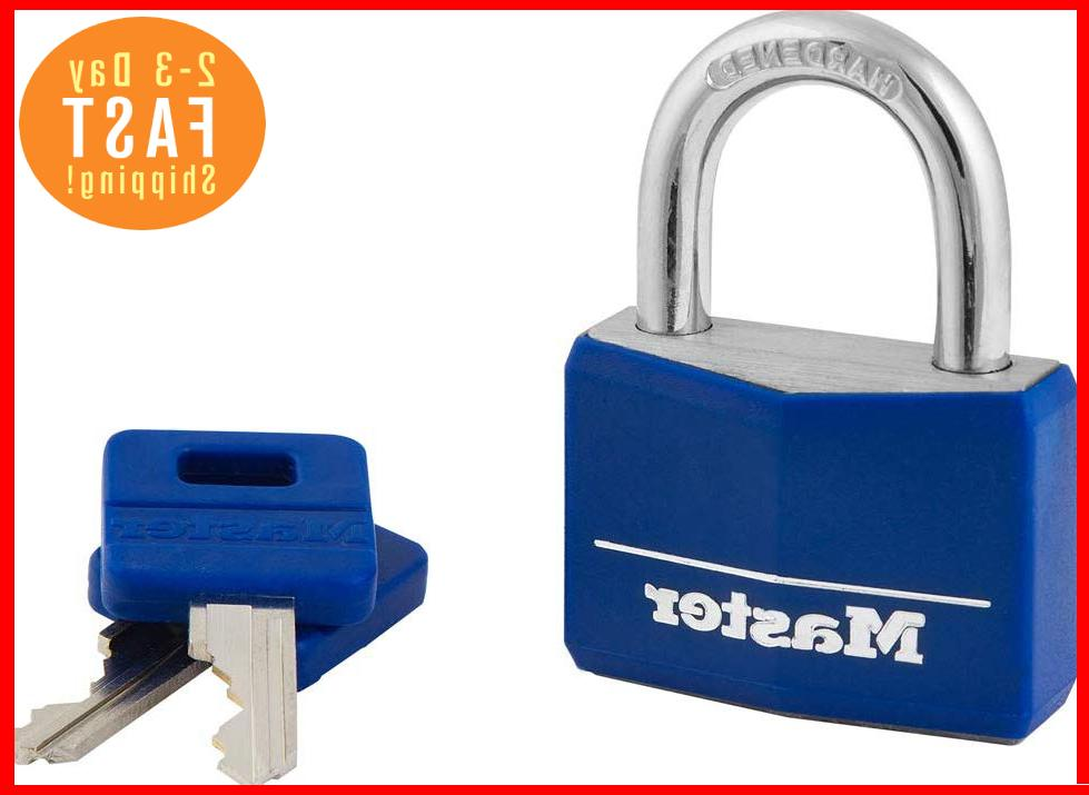 blue padlock school gym luggage locker