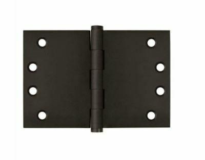 """Door Hinges Wide Throw Square Corner 4""""X 6"""" in 1 Finish By F"""