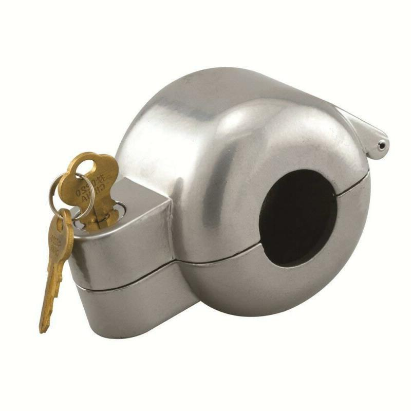 Door Knob Lock-Out Device Apartment Landlord Secure Hide Hom